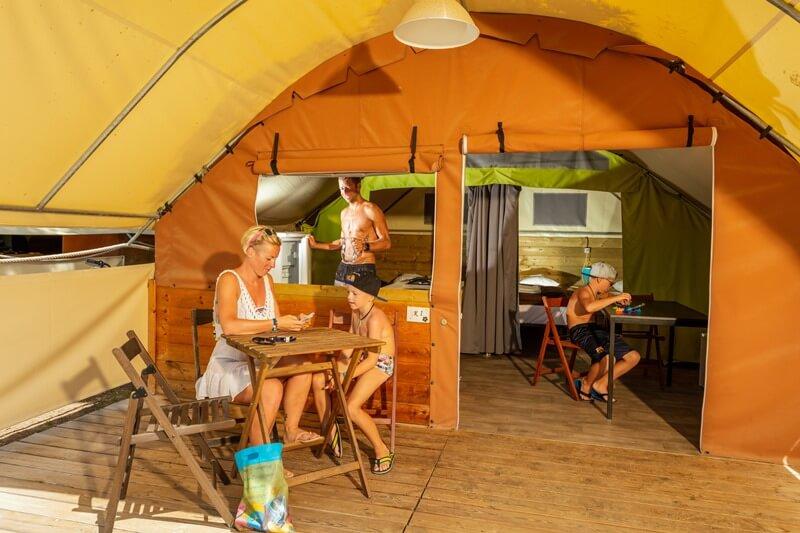 Tente Lodge 20m²